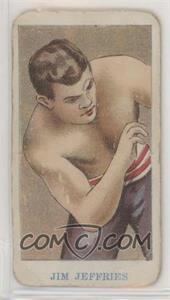 1909-10 American Caramel Prize Fighter Caramels - E75 #JIJE - Jim Jeffries [PoortoFair]