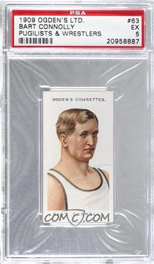 1909 Ogden's Pugilists & Wrestlers Series 2 - Tobacco [Base] #63 - Bart Connolly [PSA5EX]