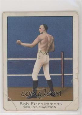 1910 ATC Champion Athlete and Prize Fighter Series - Tobacco T220 - Mecca Back #BOFI - Bob Fitzsimmons [Poor]