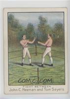Fight Between John C. Heenan and Tom Sayers [GoodtoVG‑EX]