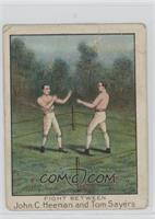 Fight Between John C. Heenan and Tom Sayers [Poor]