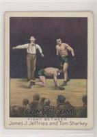 Fight Between James J. Jeffries and Tom Sharkey