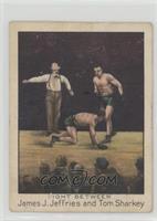 Fight Between James J. Jeffries and Tom Sharkey [Poor]