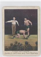 Fight Between James J. Jeffries and Tom Sharkey [GoodtoVG‑EX]