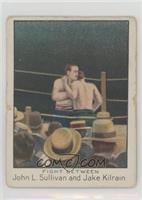 Fight Between John L. Sullivan and Jake Kilrain [Good to VG‑EX]