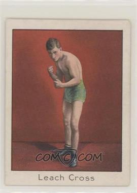 1910 ATC Champion Athlete and Prize Fighter Series - Tobacco T220 - Mecca Back #LECR - Leach Cross