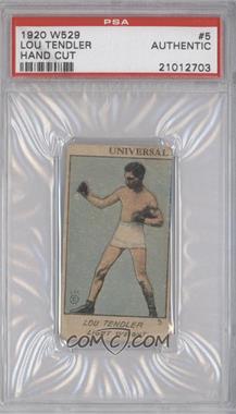 1920-25 W529 Strip Card - [Base] - Type 1 #LOTA - Lou Tendler [PSAAUTHENTIC]