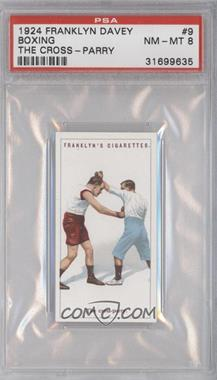 1924 Franklyn, Davey & Co. Boxing - [Base] #9 - The cross-parry [PSA8]