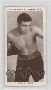1938 Churchman's Boxing Personalities - Tobacco [Base] #1 - Lou Ambers [GoodtoVG‑EX]