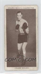 1938 Churchman's Boxing Personalities - Tobacco [Base] #19 - Frank Hough [Good to VG‑EX]