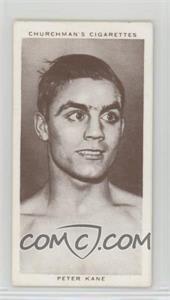 1938 Churchman's Boxing Personalities - Tobacco [Base] #21 - Peter Kane