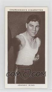 1938 Churchman's Boxing Personalities - Tobacco [Base] #23 - Johnny King