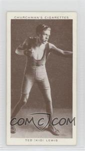 "1938 Churchman's Boxing Personalities - Tobacco [Base] #25 - Ted ""Kid"" Lewis"