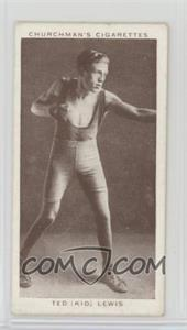 """1938 Churchman's Boxing Personalities - Tobacco [Base] #25 - Ted """"Kid"""" Lewis"""