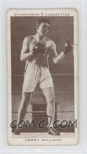 1938 Churchman's Boxing Personalities - Tobacco [Base] #29 - Tommy Milligan [Good to VG‑EX]