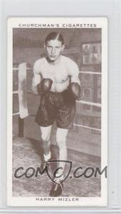 1938 Churchman's Boxing Personalities - Tobacco [Base] #30 - Harry Mizler