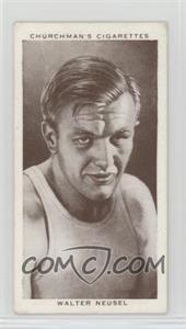 1938 Churchman's Boxing Personalities - Tobacco [Base] #31 - Walter Neusel