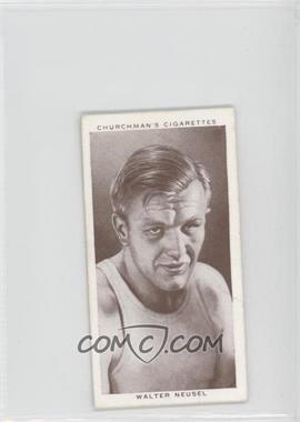 1938 Churchman's Boxing Personalities - Tobacco [Base] #31 - Walter Neusel