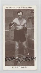 1938 Churchman's Boxing Personalities - Tobacco [Base] #33 - Eddie Phillips