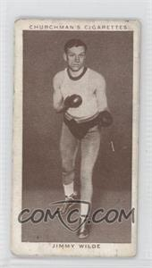 1938 Churchman's Boxing Personalities - Tobacco [Base] #39 - Jimmy Wilde [Good to VG‑EX]