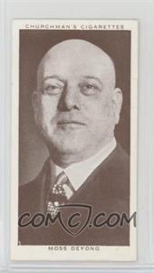 1938 Churchman's Boxing Personalities - Tobacco [Base] #40 - Moss Deyong