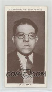 1938 Churchman's Boxing Personalities - Tobacco [Base] #42 - Jack Hart