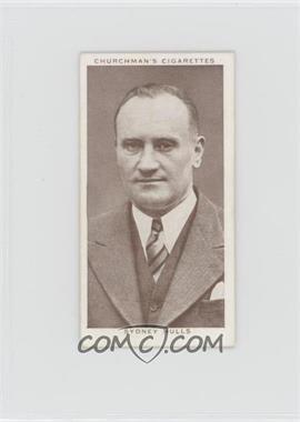 1938 Churchman's Boxing Personalities - Tobacco [Base] #49 - Sydney Hulls [GoodtoVG‑EX]