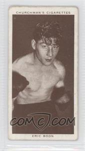 1938 Churchman's Boxing Personalities - Tobacco [Base] #5 - Eric Boon [GoodtoVG‑EX]