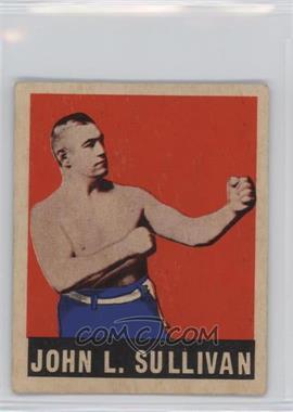 1948 Leaf - [Base] #101 - John L. Sullivan [GoodtoVG‑EX]