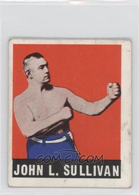 1948 Leaf - [Base] #101 - John L. Sullivan