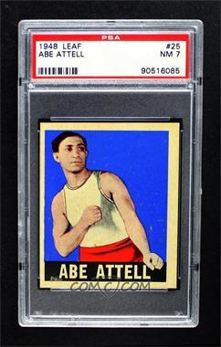 1948 Leaf - [Base] #25 - Abe Attell [PSA7NM]