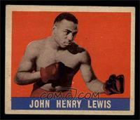 John Henry Lewis [EX]