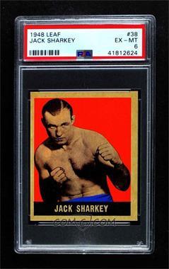 1948 Leaf - [Base] #38 - Jack Sharkey [PSA6EX‑MT]