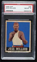 Jess Willard [PSA 8 NM‑MT]