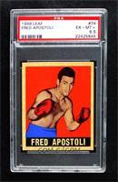 Fred Apostoli [PSA6.5EX‑MT+]