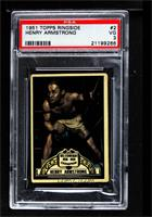Henry Armstrong [PSA 3 VG]