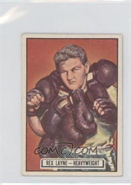 1951 Topps Ringside - [Base] #58 - Rex Layne [Good to VG‑EX]