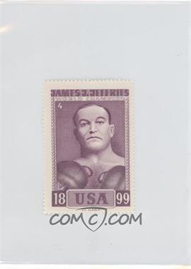 1964 Slania Stamps - [Base] #4 - James J. Jeffries
