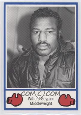 1985 Brown's Boxing - [Base] #23 - Wilford Scypion