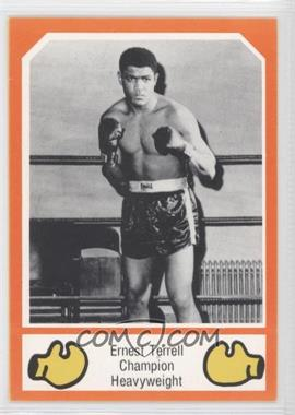 1987 Brown's Boxing Cards - [Base] #N/A - Ernest Terrell