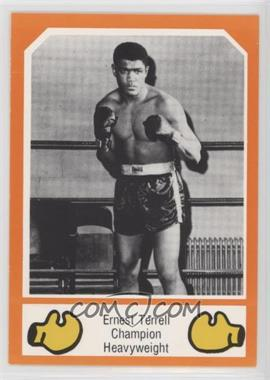 1987 Brown's Boxing Cards Orange Border - [Base] #134 - Ernest Terrell