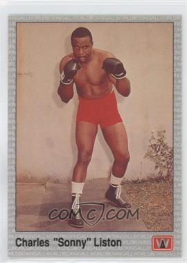 1991 All World Boxing - [Base] #102 - Charles Liston
