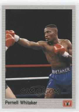 1991 All World Boxing - [Base] #11 - Pernell Whitaker