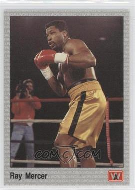 1991 All World Boxing - [Base] #113 - Ray Mercer