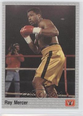 1991 All World Boxing - [Base] #113 - Ray Mercer
