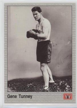 1991 All World Boxing - [Base] #120 - Gene Tunney