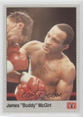 1991 All World Boxing - [Base] #128 - James McGirt