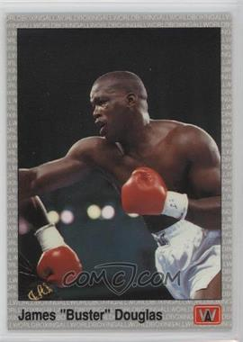 "1991 All World Boxing - [Base] #13 - James ""Buster"" Douglas"
