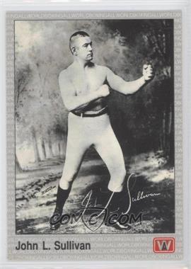 1991 All World Boxing - [Base] #138 - John L. Sullivan