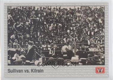 1991 All World Boxing - [Base] #139 - Sullivan vs. Kilrain